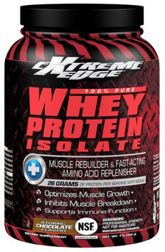 Extreme Edge - Whey Protein Isolate Atomic Chocolate - 1 lb.