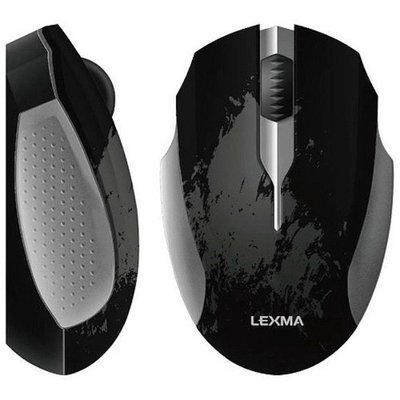 Lexma USB Optical Mouse, Black