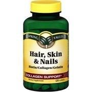 Spring Valley  Hair, Skin & Nails Collagen Support