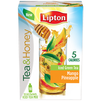 Lipton® Pineapple Mango Iced Green Tea Mix Packages