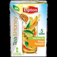 Lipton Pineapple Mango Iced Green Tea Mix Packages