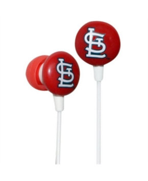 Ihip iHip MLB Officially Licensed Ear Bud Headphones - St. Louis Cardinals