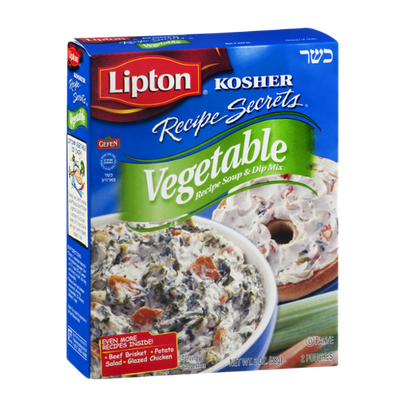 Lipton® Kosher Recipe Secrets Vegetable Soup & Dip Mix