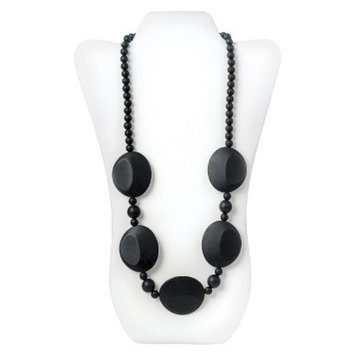 Nixi by Bumkins Pietra Silicone Teething Necklace - Black
