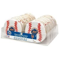 The Wild Baker Mets 24 Count Decorated Cookie Tray