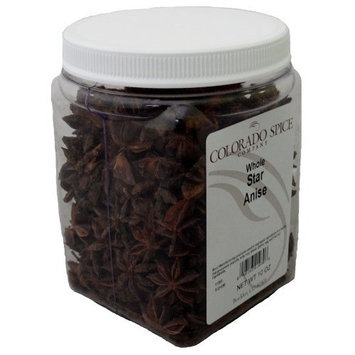 Colorado Spice Anise, Star Whole, 10-Ounce Jars (Pack of 2)
