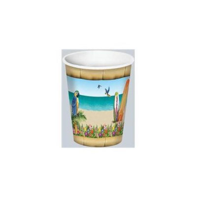Beistle - 58205 - Paradise Beverage Cups- Pack of 12