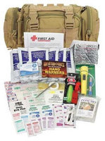 PHYSICIANSCARE 90454 Survival Kit, Tan,6inHx5inLx12inW