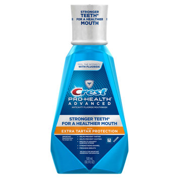 Crest Pro-health Advanced With Extra Tartar Protection Mouthwash With Fluoride