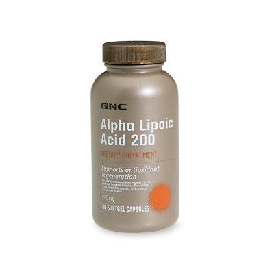 GNC Alpha Lipoic Acid 200