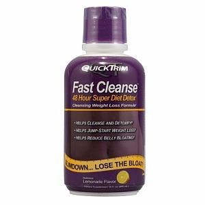 Quicktrim Fast Cleanse 48 Hour Super Diet Detox Reviews 2020