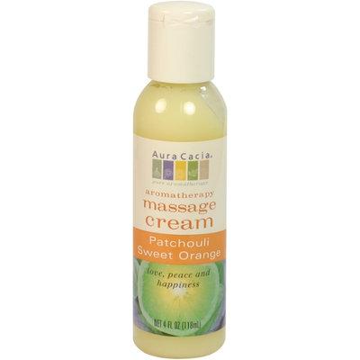 Aura Cacia Patchouli/Sweet Orange Aromatherapy Massage Cream