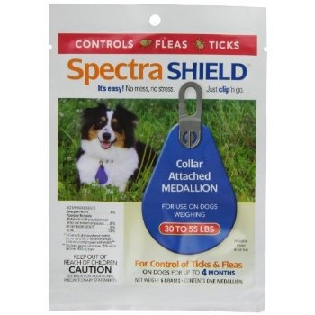 Iowa Veterinary Supply Co Spectra Shield For Dogs Size: 30-55 Lb.