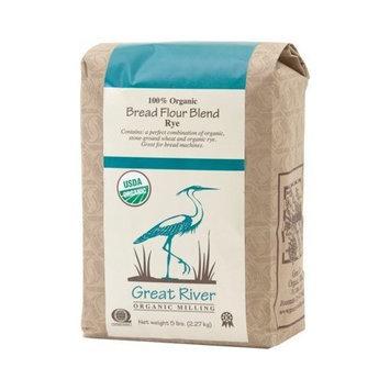 Great River Organic Milling Organic Bread Flour Blend Rye (5 Lb)