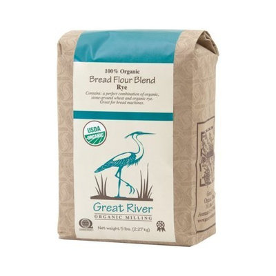 Great River Organic Milling Organic Bread Flour Blend Rye (5 Lb)