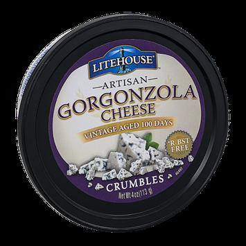 Litehouse Artisan Gorgonzola Cheese Crumbles