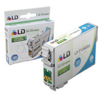 LD © Remanufactured Replacement for Epson T126220 (T1262) High Capacity Cyan Pigment Based Ink Cartridge