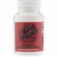 Ultra Glandulars Ultra Raw Thymus 200Mg 60 Tablets