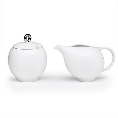 Maia Ming Designs Eva Milk-Sugar Glossy White