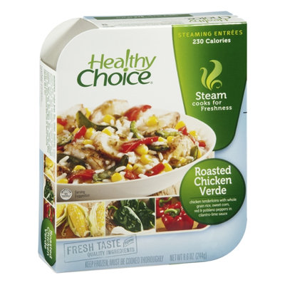 Healthy Choice Steaming Entrees Roasted Chicken Verde