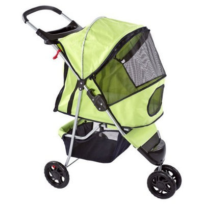 Bestpet Pampered Pet Jogging Stroller for Small Dogs and Cats
