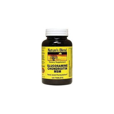Nature's Blend Glucosamine Chondroitin Msm 120 Tabs
