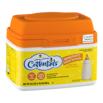 Cottontails Sensitivity Infant Formula Powder With Iron