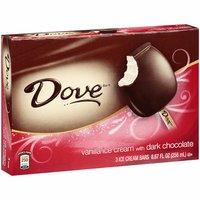 Dove Vanilla Ice Cream Bars With Dark Chocolate