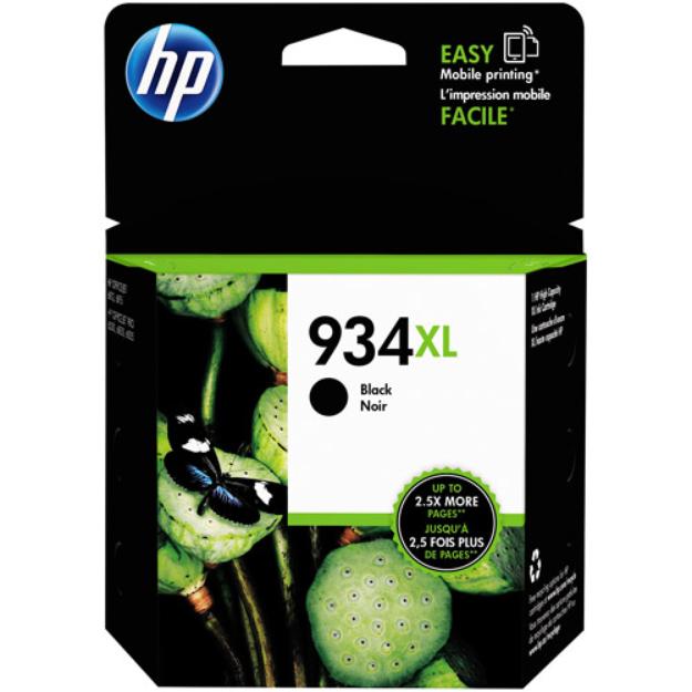 HP 934 XL High-Yield Black Ink Cartridge