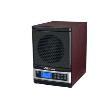 MicroLux 7 Stage UV Ion Air Purifier with Remote in Cherry
