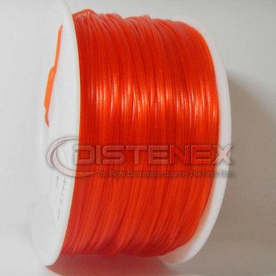Distenex 3D Printer PLA Filament 1.75mm 1kg Spool Transparent Red