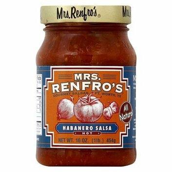 Mrs. Renfro's Hot Habanero Salsa 16-oz.