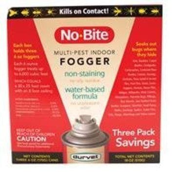 Durvet No-Bite Fogger Saving Flea and Tick Control - 3 Pack