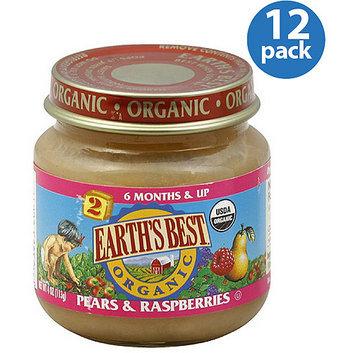 Earth's Best Organic Pears & Raspberries