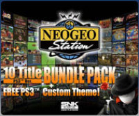 SNK Playmore USA NEOGEO Station PS3 BUNDLE PACK DLC