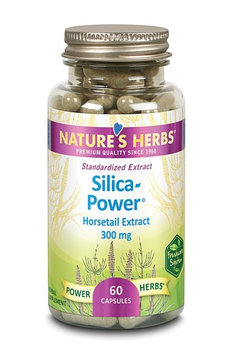 Nature's Herbs Silica Power 300 mg - 60 Capsules