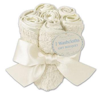 Bumkins Certified Organic Washcloth Bouquet - Cream