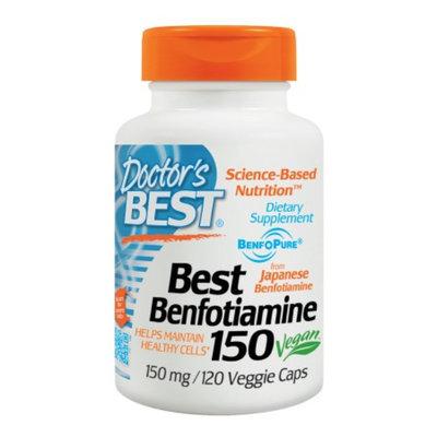 Doctor's Best Benfotiamine 300 mg
