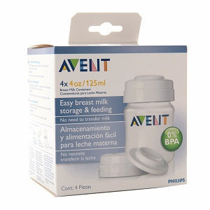 Avent BPA Free Breast Milk Storage Containers (PP)