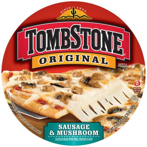 Tombstone Original Sausage & Mushroom Pizza, 22.75 oz
