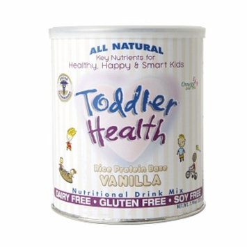 Toddler Health Rice Protein Base Nutritional Drink Mix, Vanilla, 7.94 oz