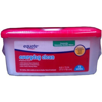 Huggies® Equate Everyday Clean Gentle Wipes Compare to Huggies Simply Clean Wipes