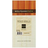 Wolfgang Puck Coffee, French Vanilla Flavored, 18-Count Pods (Pack of 3)