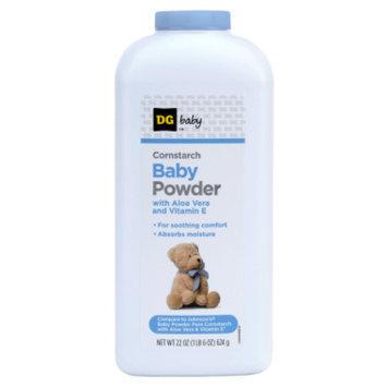 DG Baby Cornstarch Baby Powder - 22 oz