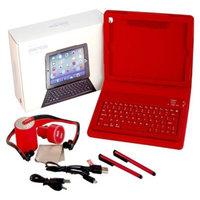 Solutions 2 Go iPad Mini Bluetooth Accessory Kit - Red
