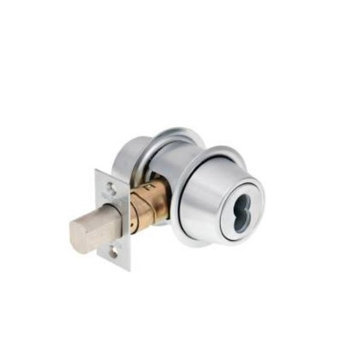 Falcon D231 BD 626 FIC7 Double Cylinder Deadbolt Adj Bs Ic Satin Chrome