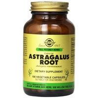 Solgar Full Potency Chinese Astragalus Root Vegetable Capsules, 100 Count