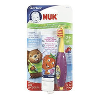 Gerber NUK Toddler Tooth and Gum Cleanser, 1.4 Ounce,