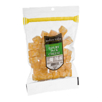 Madison Valley Farms Colby Jack Cheese Cubed