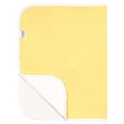 Kushies Deluxe Flannel Change Pad, Yellow